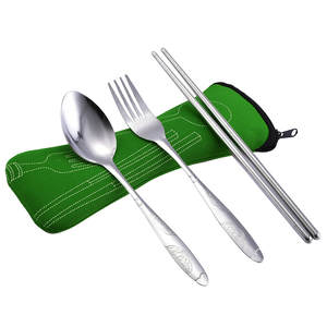 our cherish 3Pcs Tableware Dinnerware Cutlery Set Fork