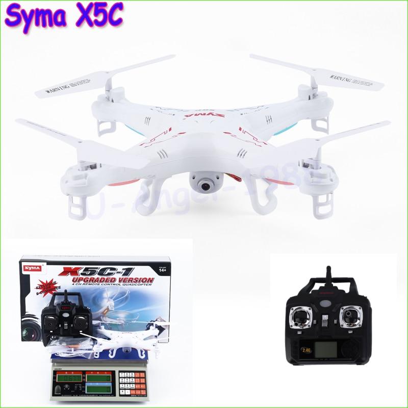 Original Syma X5C Explorers Quadcopter font b Drone b font 2 4G 4CH RC Mode 2