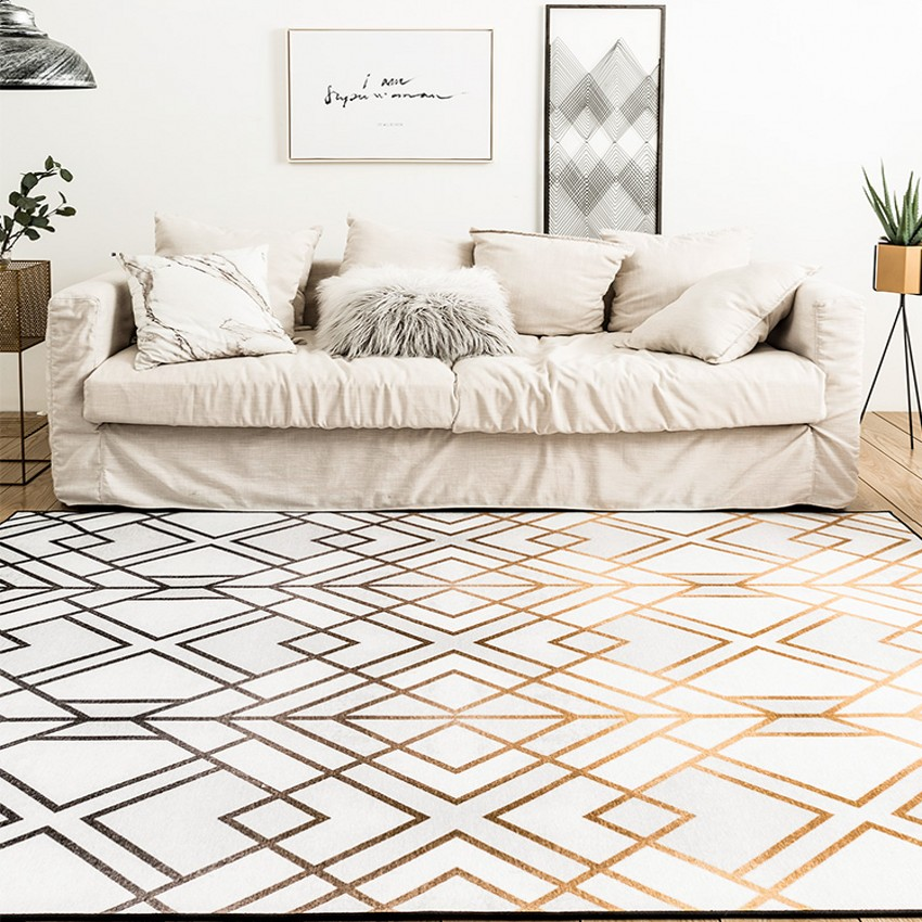 Nordic simple metallic style geometric living room carpet, big size bedside rug, decoration office carpet ,ground matNordic simple metallic style geometric living room carpet, big size bedside rug, decoration office carpet ,ground mat