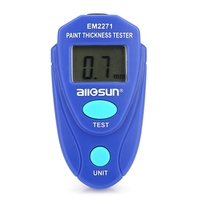 EM2271 Thickness Gauge Digital Coating Thickness Car Painting Meter paint thickness meter Russian manual