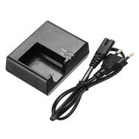 For Canon 1pc LC-E10C Battery Charger + 61cm EU Plug Power Cord Supports LP-E10 EOS 1100D 1200D Kiss X50 Rebel T3 Mayitr