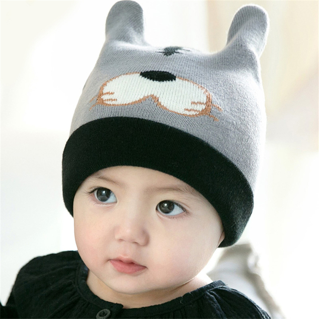 Winter Warm Wig Hat For Kids Winter Baby Caps Toddler Beanie Warm Winter  Organic Cotton Baby Hat Girl Infant 70D0506 3cd71892b62