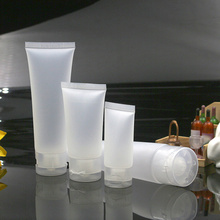 Portable Empty Plastic Tube Squeeze Bottle Cosmetic Cream Lotion Travel Refillable 20/30/50/100ml Container Makeup