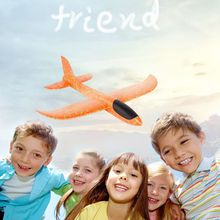 2019 DIY Kids Toys Hand Throw Flying Glider Planes Foam Aeroplane Model Party Bag Fillers Flying Glider Plane Toys For Kids Game