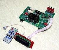 Placa amplificador TDA7293 LCD controle remoto  2.0 canais Pré-amplificador board  placa amplificadora Fase  Amplificador Integrado placa