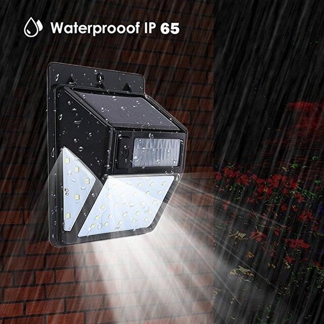 Lights Outdoor Wireless Sensor Fence Light For Patio, Yard, Pathway,  Garden, Hall