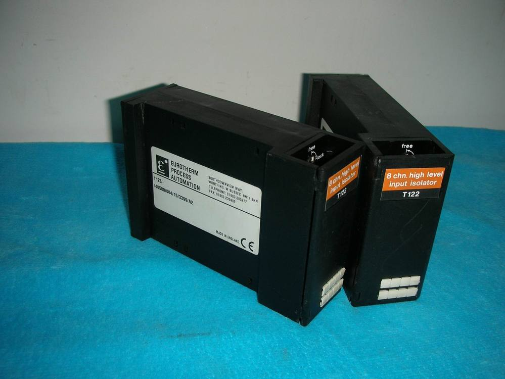 1PC USED Continental EUROTHERM CONTROLS T122 1pc used eurotherm t140 channel digital input 8 euro