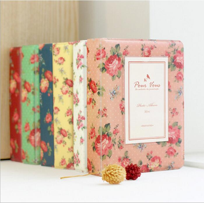 Vintage Floral Blooming Mini Polaroid Album mini 25 / 7s 8 ретро - Үйдің декоры - фото 1