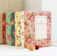 Vintage Floral Blooming Mini Polaroid Album fujifilm mini 25/7s 8 retro photo album