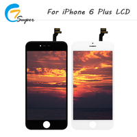 ET Super 10PCS LOT AAA Quality In Black White 5 5 Inch For IPhone 6 Plus