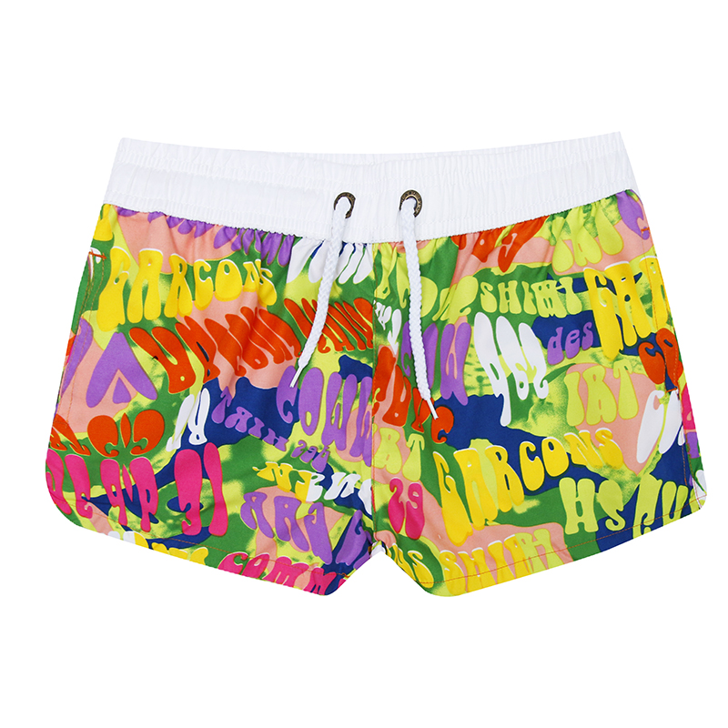 Hot Sales!   Shorts   Women Causal Beachwear Quick Dry Floral Printed Swimsuits Female 40 Patterns Factory Supply