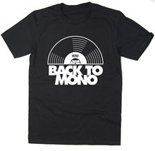 Back To Mono - Funny Mod T-Shirt 45RPM New T Shirts Tops Tee Unisex
