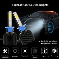 Fog Led Car Headlight H1 H4 LED H3 H7 H8 9005 9006 72W 8000lm Auto Bulb