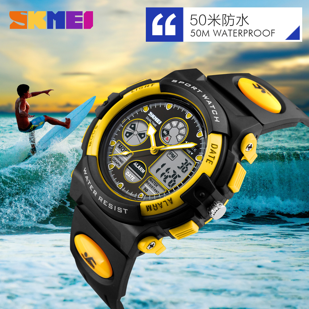 Fashion Kids Sports Watches Cute Children Watch Sport Led Display Digital Watches Relogio Quartz-Watch Electronic Wristwatches image