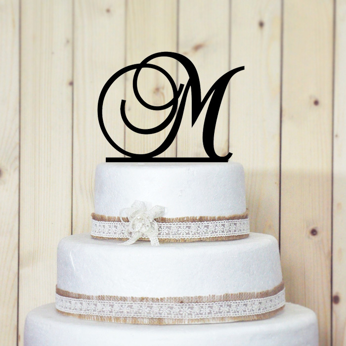 acrylic wedding cake toppers monogram aliexpress buy personalized acrylic wedding cake 10538