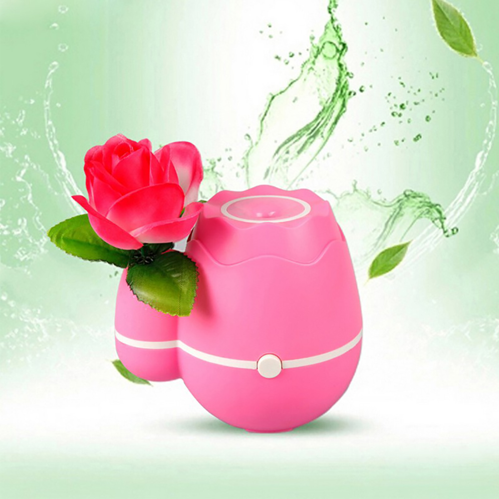 Artistic Vase Style Mini USB Air Humidifier Flower Essential Oil Aroma Diffuser Aromatherapy Home Office Mist Maker Purifier usb mini humidifier air humidifier aroma diffuser essential oil diffuser humidifier atomizer mist maker home carry