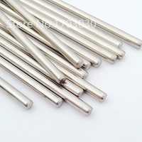 Edelstahl Stangen welle Linear Schiene Runde Welle Länge 200mm * Durchmesser 3mm/2mm/2,5 mm/4mm/5mm 10 stücke für RC Modell