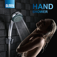OLMEY 5 Functions Massage & Mist Hand Held Shower Head Kit With Long 1.5 Hose, Multi Functions Bathroom SPA 51005