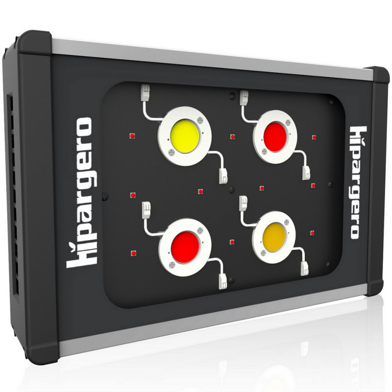 HIPARGERO 450W COB LED Grow Light Full Spectrum With 5W CREE LEDs And 100W Epileds COBs For Indoor Plants