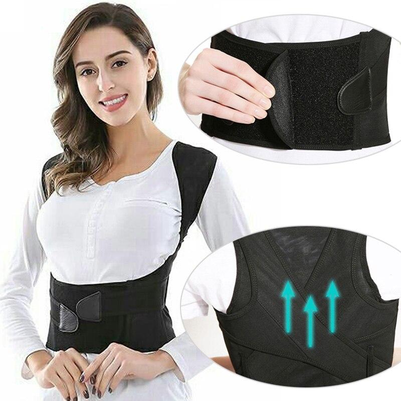 Posture Corrector Corset For The Back Protection Shoulder Support Bandage Back Pain Corset Belt Straightener Back Brace Support