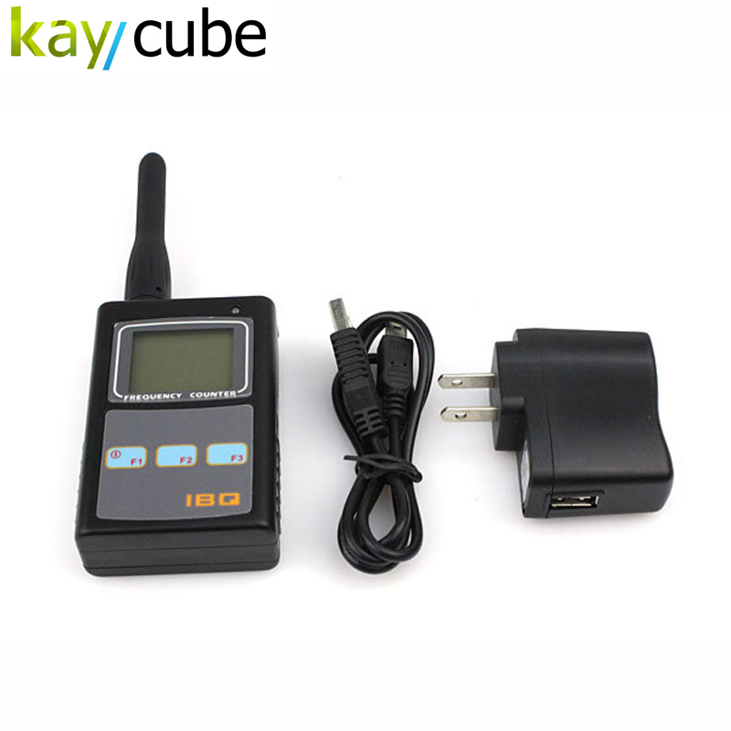 IBQ102 Portable Two Way Radio Frequency Counter Wide Test Range 10Hz-2.6GHz Handheld Digital RF Meter for Baofeng Yaesu Kenwood аккумулятор hoco b16 metal surface 10000mah gold