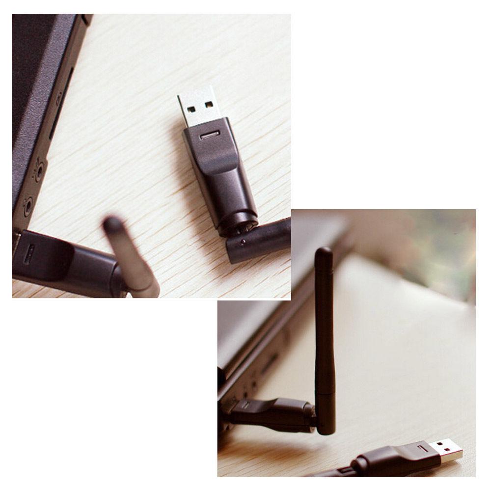 Receptor de satélite RT5370 Mini USB Wi-fi adaptador Para Freesat HD V7 V8 COMBO MAX Super Ouro v8 dourado S-F5S S-V6
