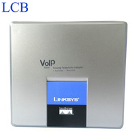 Linksys Unlocked SPA3000 VoIP Phone Adapter FXS FXO VoIP PTSN Telephone Internet Telefone Adapter Server 5pcs