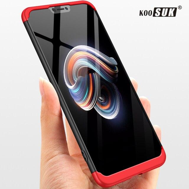 low priced 32e1e 811d1 US $3.79 24% OFF|Vivo X21 Case Original Koosuk Brand 360 Degree Full Cover  Luxury PC Protective Back Cover For BBK Vivo X21 Cell Phone Case Coque-in  ...