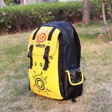 Anime NARUTO Leather Backpack