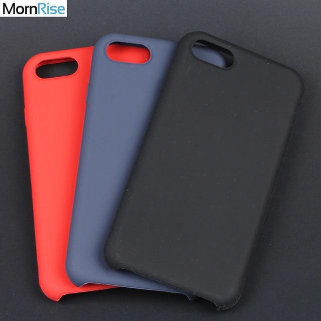 Роскошные задняя Чехлы для Apple iPhone 8 7 Plus силикон чехол жидкого  кремния микрофибры внутри оригинальный 6deebda6361e8