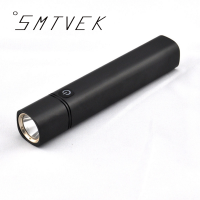 SMTVEK CREE Q5 Rechargeable Aluminum Waterproof Portable LED Flashlight Charging Treasure Function Outdoor Lamp USB Charging