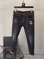 WE08294BA Fashion Men's Jeans 2018 Runway Luxury Brand European Design party style Men's Clothing