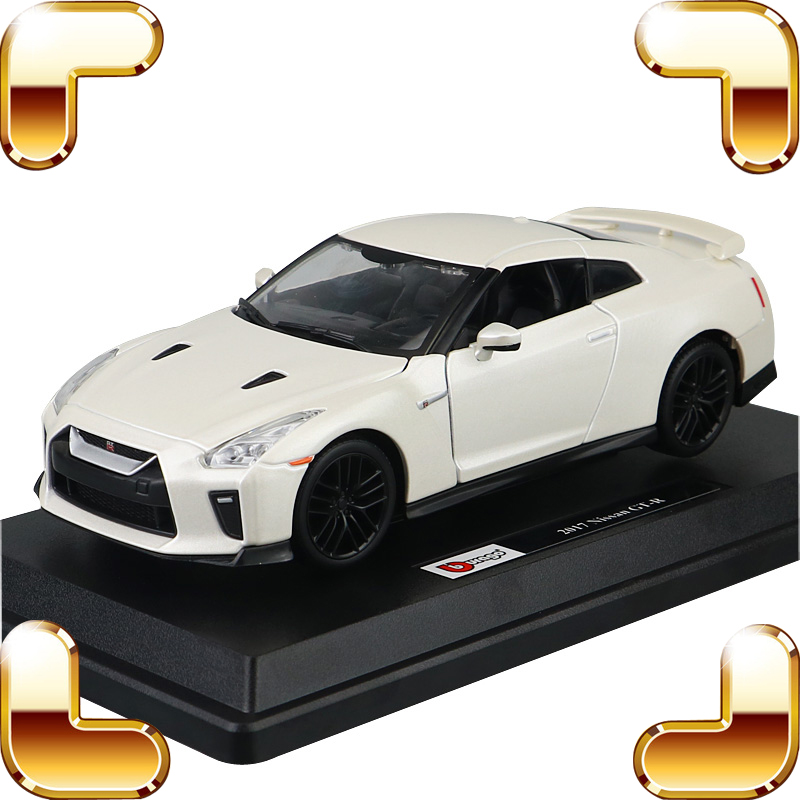 New Coming Gift GTR 1/24 Metal Model Car Diecast Collection Alloy Strong Material Scale Model Vehicle Design Friend Present Item saintgi range rover suv diecast metal alloy car classical model boysgift vehicle simulation evoque collection 1 24 scale