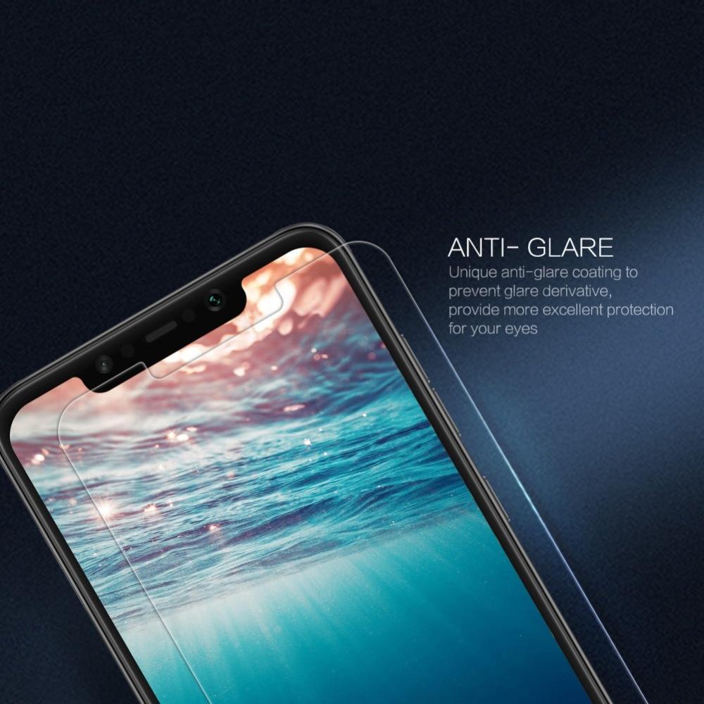 för Xiaomi Pocophone Poco F1 härdat glas skärmskydd Nillkin 9H - Reservdelar och tillbehör för mobiltelefoner - Foto 5