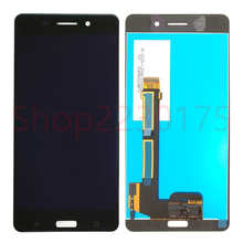 лучшая цена For Nokia 6 TA-1000 TA-1003 TA-1021 TA-1025 TA-1033 TA-1039 LCD Display Touch Screen Digitizer Assembly Replacement Parts
