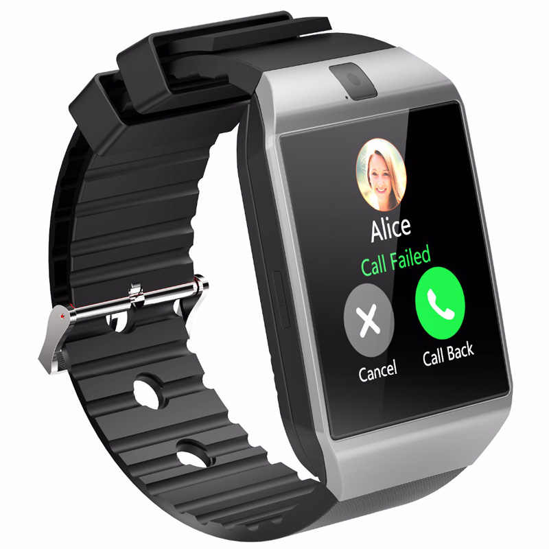 Bluetooth Smart Watch Android Phone Call Smart Watch With Camera 2G GSM SIM TF Card Camera for iPhone Samsung HUAWEI xiaomi DZ09