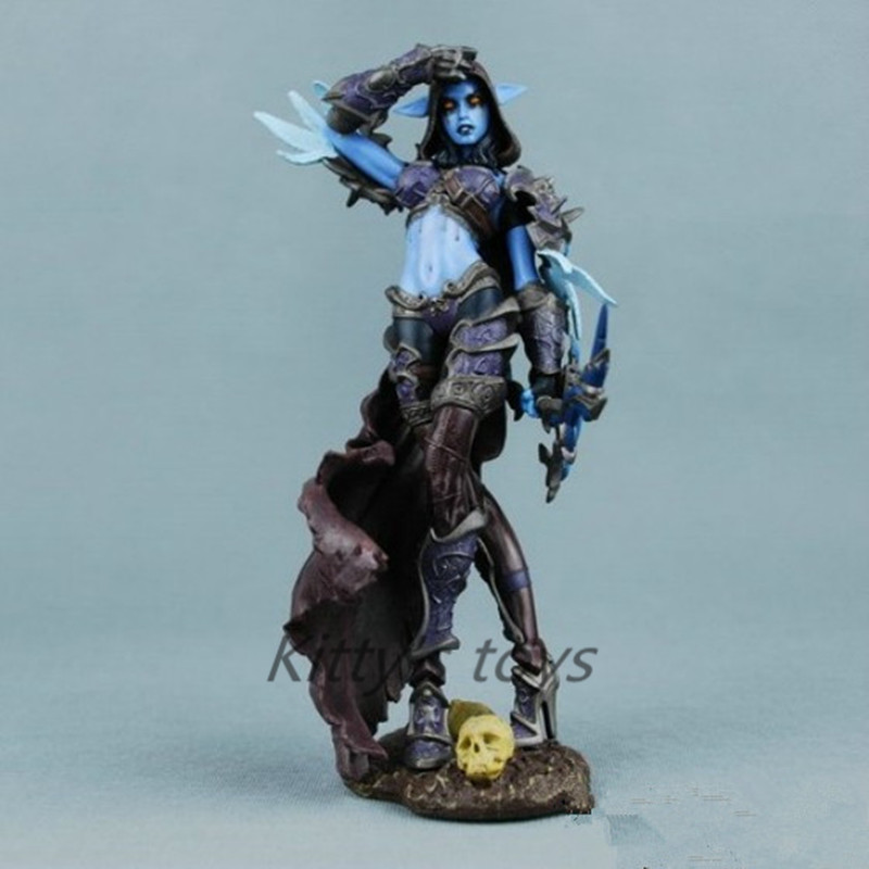 Game Figures Forsaken Queen: Sylvanas Windrunner Action Figure Collectible Toy Free Shipping KA0478 1