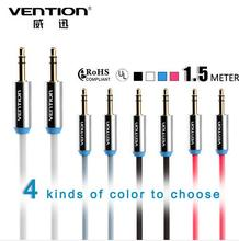 Vention aux audio cable 3.5mm male to male car aux cable gold plated auxiliary cable 3.5mm jack cabo for Ipad Iphone 4 5 6 S