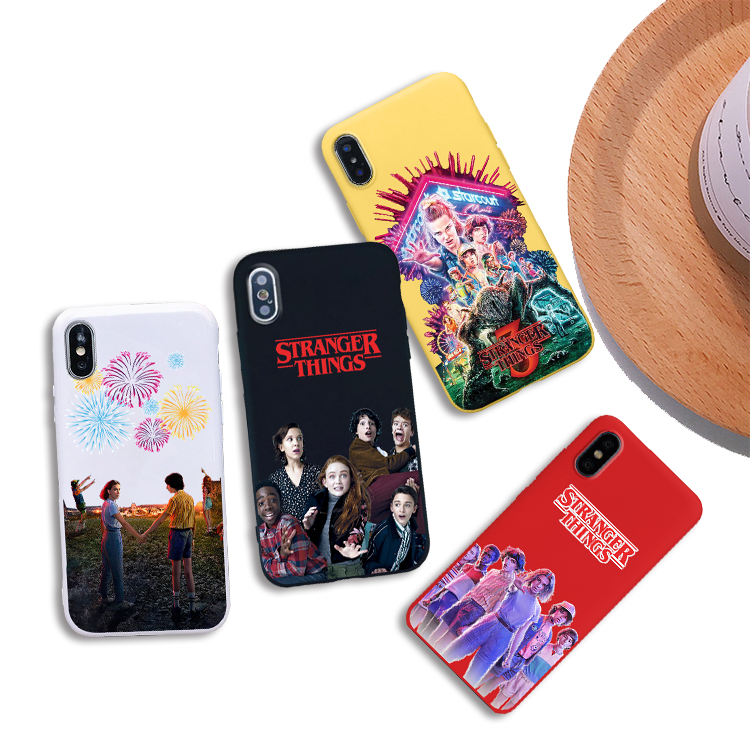 stranger things season 3 soft Silicone cover cell phone case for iPhone X XR XS MAX 6 7 8 plus 5 5s 6s se