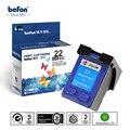 Befon совместимый 22 Цветной картридж Замена для HP 22 чернильный картридж для Deskjet HP3930 3930 3940 F2110 2120 4315 принтер
