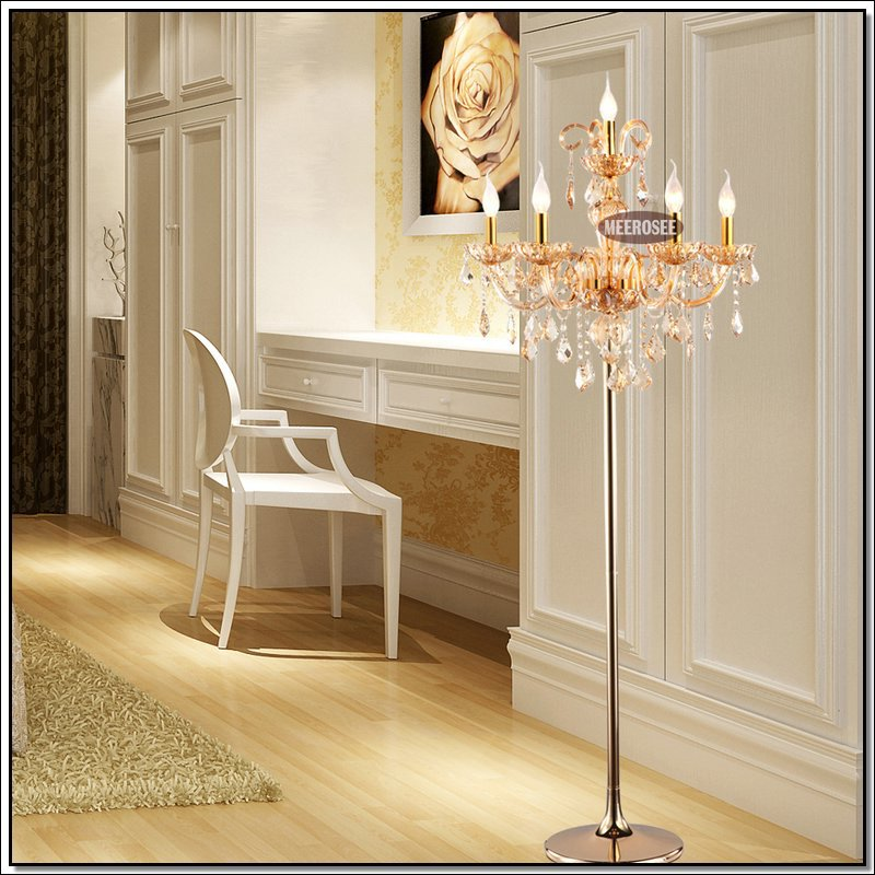 cheap floor lighting. 2015 rushed timelimited 100300w bed room ac 220v 6 lights crystal floor lamp stand light fixture fl6609 cristal standing cheap lighting