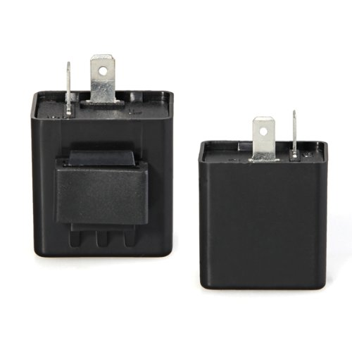 WSFS Hot Sale Turn Signal Flasher Blinker Relay 12V 2 Pin Motorcycle