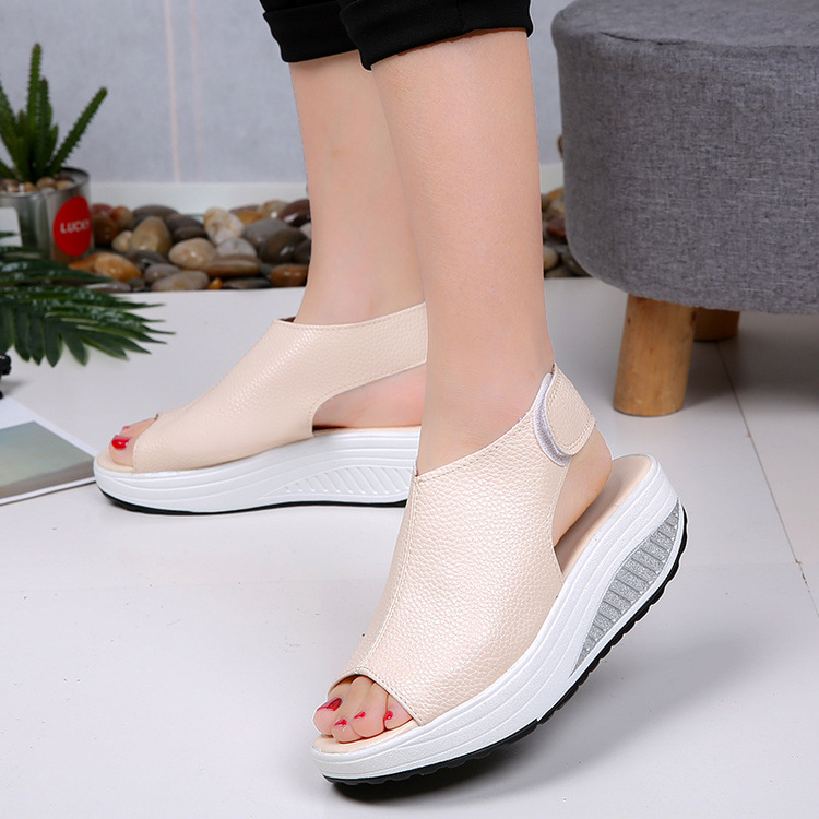 2019 Fashion Women Summer Female Sandals Vintage Wedges Platform Shoes Peep Toe Sandal High Heels Fish Toe Shoes Zapatos Mujer992019 Fashion Women Summer Female Sandals Vintage Wedges Platform Shoes Peep Toe Sandal High Heels Fish Toe Shoes Zapatos Mujer99