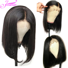 Brazilian Straight Short Bob Wig 150% density  13*4 Lace Front Human Hair Wigs With Pre Plucked With Baby Hair Remy Lace Wig стоимость