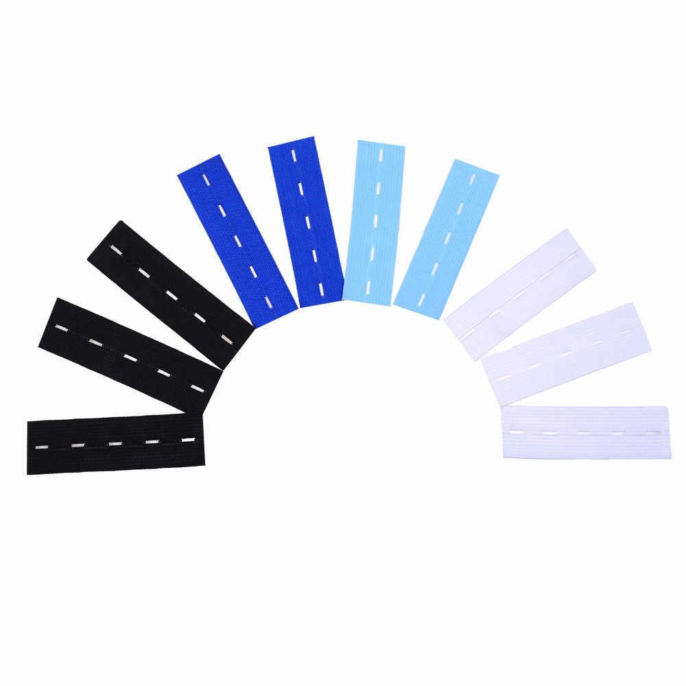 10 piezas cintura elástica extensores fuerte ajustable pantalones botón extensores de Clothiers extensión cintura con hebilla de belt1D13