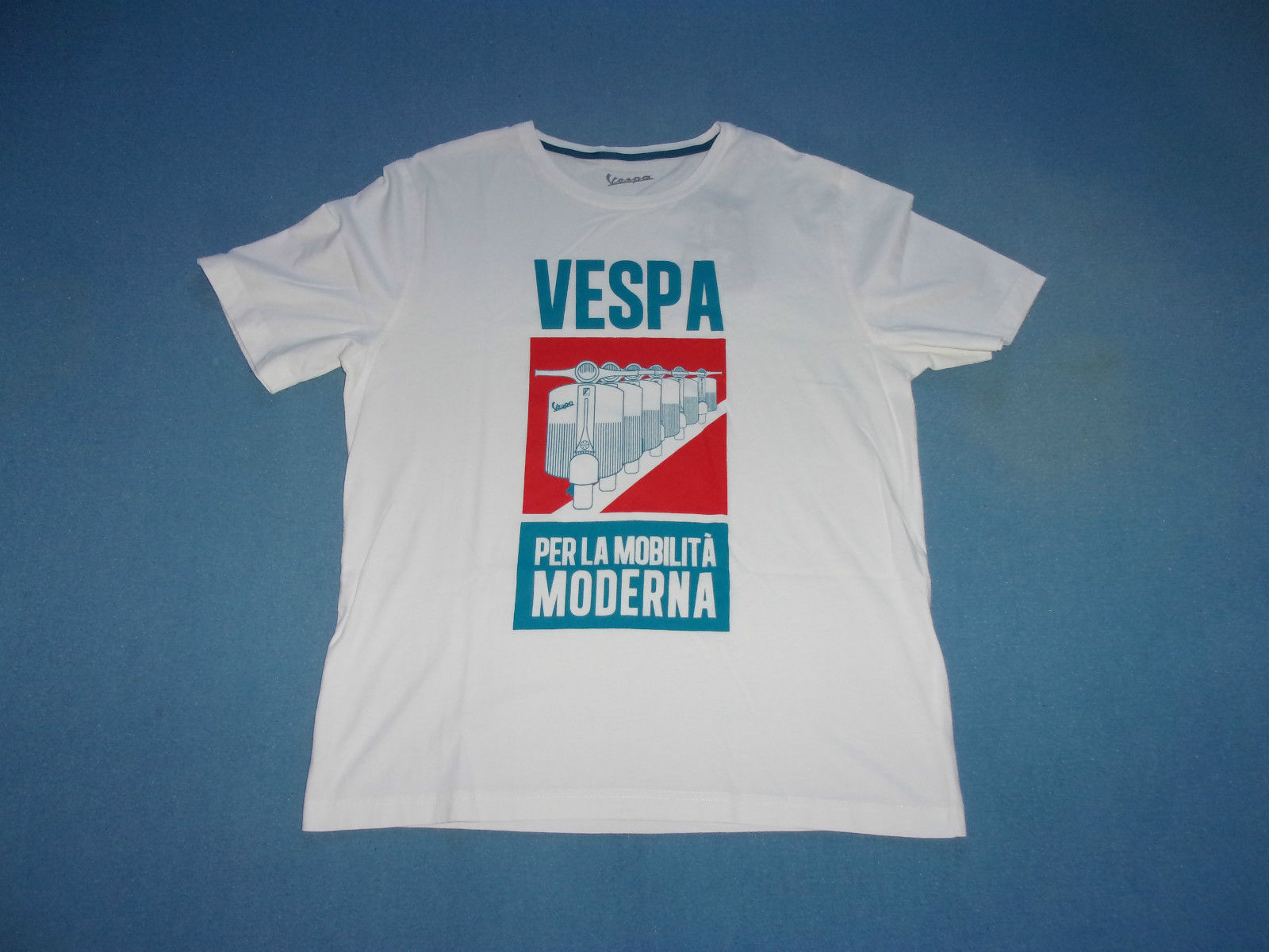 T-Shirt VESPA Homme Blanc One Shot Man Taille T Shirt Gift More Size and Colors Top Tee Colour Funny Printed Funny