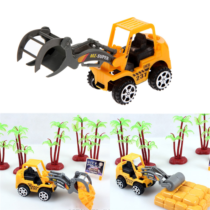 6pcs/lot  Mini Car Toys Lot Vehicle Sets Educational Toys Engineering Vehicle Kids's Toys Free Shipping