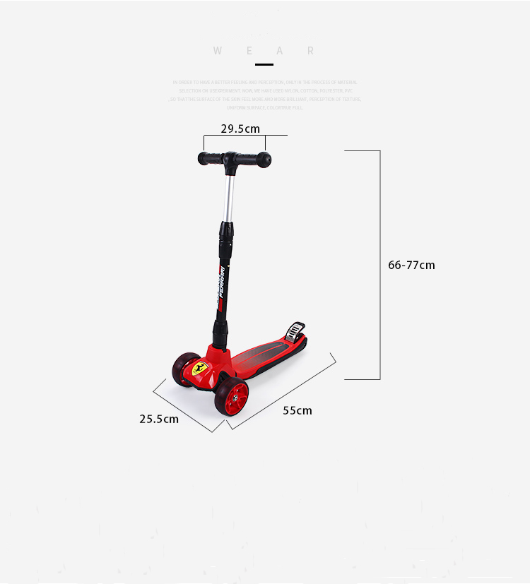 Children Kick Scooter 3 10years Outdoor Sport Bodybuilding Scooter For Child Kids Boys Girls Kickboard 3 Wheels Toys Scooter - 5