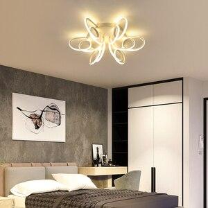 Image 5 - Nieuwe Moderne Led Kroonluchters Voor Woonkamer Slaapkamer Eetkamer Armatuur Kroonluchter Plafondlamp Dimmen Home Verlichting Luminarias