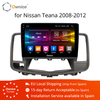 Ownice K1 K2 Octa Core Android 8.1 Car GPS Navigation For NISSAN Teana 2008 2012 Radio Audio Multimedia Stereo DVD player 4G